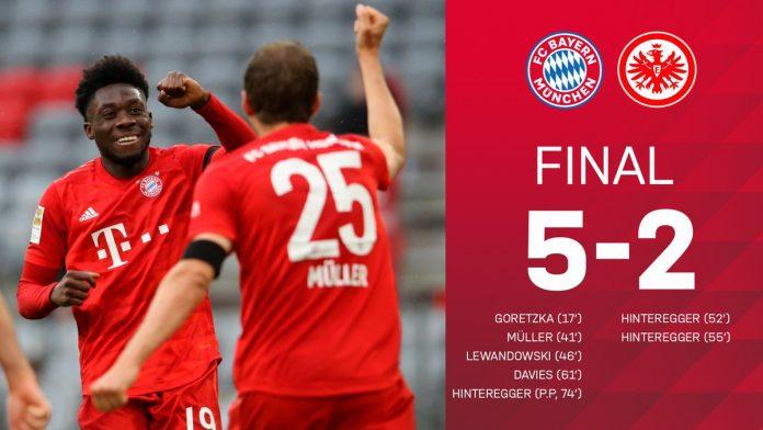 ¡Lluvia de goles en la vuelta al Allianz Arena!