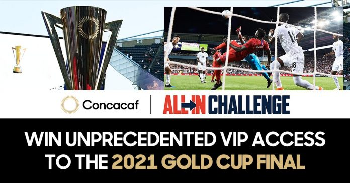 Concacaf se une al ALL IN Challenge