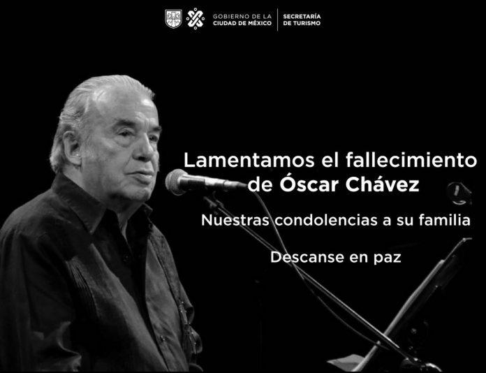 La Música de Luto Falleción un Grande Oscar Chávez