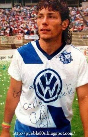 Carlos Poblete ex Jugador del Puebla hoy Director Deportivo