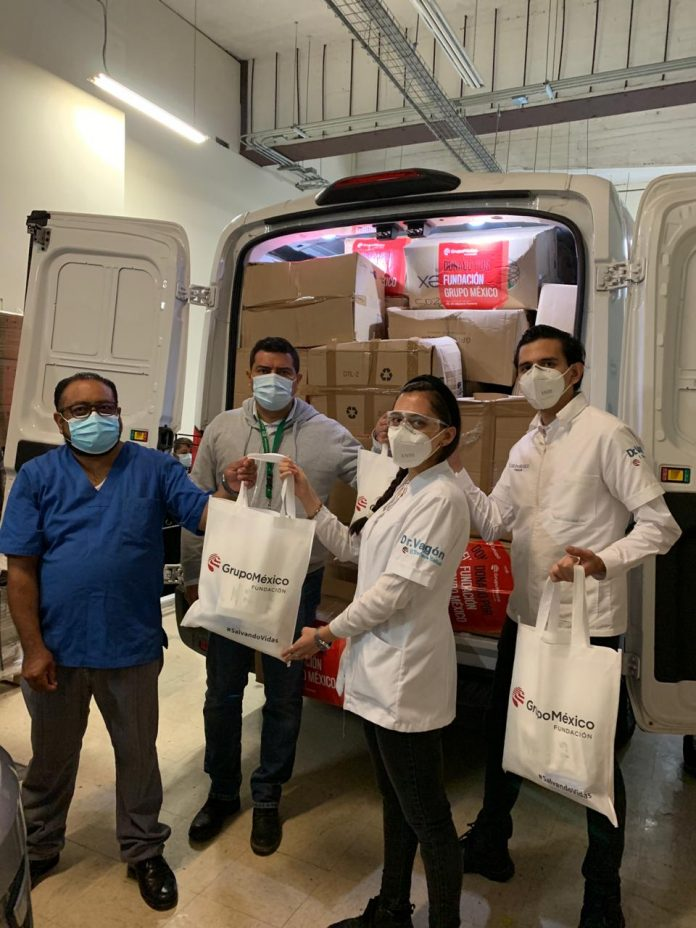 Otra donación Grupo México Fundación