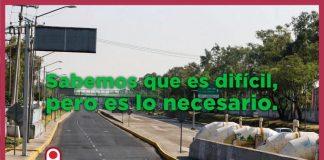 Semáforo Rojo en la Ciudad de México